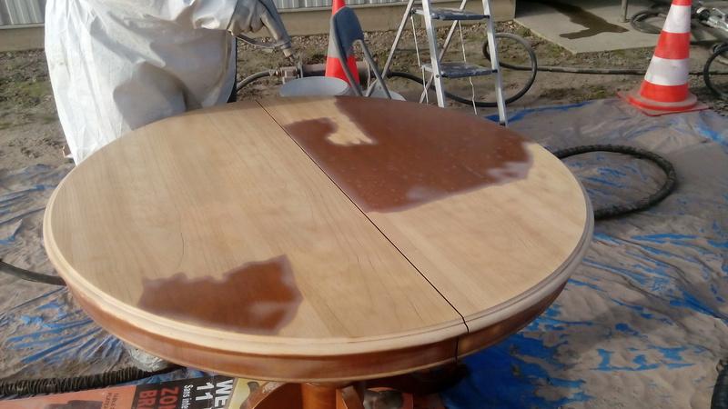 D barrassez vous de la corv e du sablage ou du d capage - Comment decaper un meuble en bois vernis ...